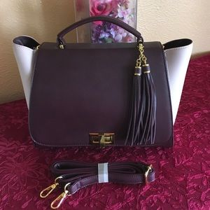 Two tone satchel